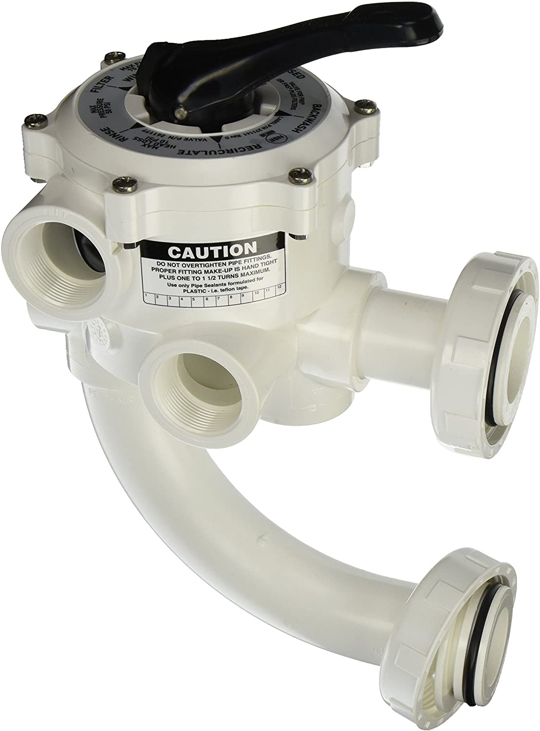 Pentair 261177 Inexpensive 1-1 2-Inch Threaded P Ranking TOP2 Replacement Multiport Valve