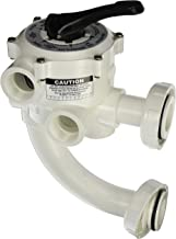 Pentair 261177 1-1/2-Inch Threaded Multiport Valve Replacement Pool and Spa D.E. Filter