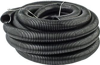 "20 Feet Ft. 3/4"" 19mm Black Split Loom Conduit Polyethylene Tubing"