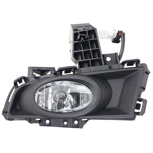 2014-2016 MAZDA 3 MAZDA3 AXELA BUMPER DRIVING FOG LIGHT LAMP CHROME W//BEZEL+BULB