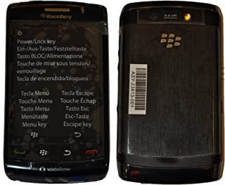 BlackBerry Storm2 9520 Rcp51Uw 2Gb 3G Classic Unlocked Cell Phone International Version With No Warranty Charcoal Black