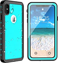 iPhone Xs Max Waterproof Case 2018 Released 6.5 inch, SPIDERCASE Dustproof Snowproof Shockproof IP68 Certified, iPhone Xs Max Case with Built-in Protector Full Body Rugged Cover for iPhone Xs Max