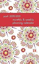 Posh: Floral Abundance 2020-2021 Monthly/Weekly Planning Calendar