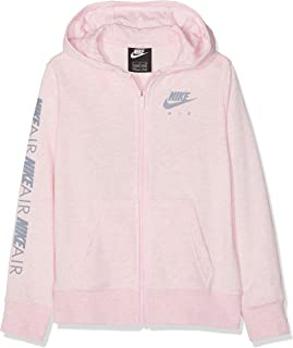 G NSW Nike Air Fz Felpa Zip Bambina Purple