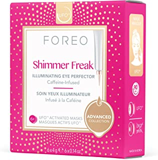 FOREO Shimmer Freak UFO-Activated Mask, 6g 6 count