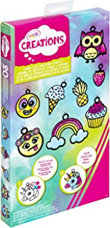 CRAYOLA 04 6232 Creations Stained Glass Suncatcher Craft Set, Makes 20 Suncatchers, Ideal for Bedroom Windows, Great DIY R...
