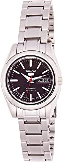 SEIKO Women's Automatic Watch, Analog Display and Stainless Steel Strap SYMK17J1