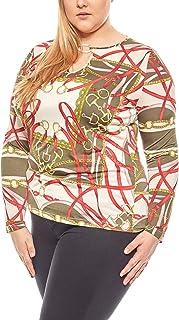 36853e266d7 RICK CARDONA Blouse Femme attirante de