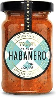 Habanero Chili Sauce extra scharf 55% Habanero - Mexikanische Salsa de Habanero handgemacht von YOLOTL