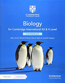 Cambridge International AS & A Level Biology Coursebook with Digital Access (2 Years)