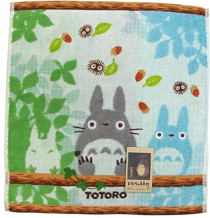 Marushin Ghibli My Neighbor Totoro Hand Towel Three Totoro 34cm X 36cm Ref Maru 53283 Multicoloured Amazon Co Uk Kitchen Home