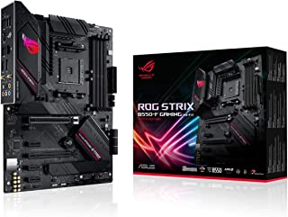 ASUS ROG Strix B550-F Gaming (WiFi 6) AMD AM4 Zen 3 Ryzen 5000 & 3rd Gen Ryzen ATX Gaming Motherboard (PCIe 4.0, 2.5Gb LAN...