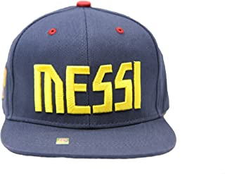Messi Barcelona Fc Hat Cap New with Tags Official Product Flat Brim Snapback