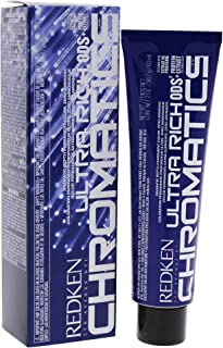 Redken Chromatics Ultra Rich Hair Color for Unisex, 6AB (6.1)/Ash/Blue, 2 Ounce