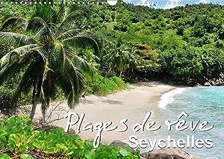 Plages de rêve Seychelles (Calendrier mural 2022 DIN A3 horizontal): Les plus belles plages des îles Mahé, Praslin et La D...