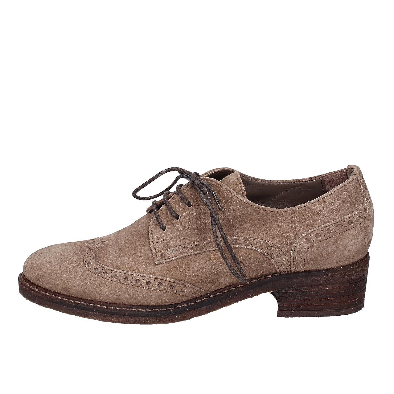 ティッシュピン下線[CODICI E SEGNI] 古典的な女性の靴 レディース スウェード ベージュ