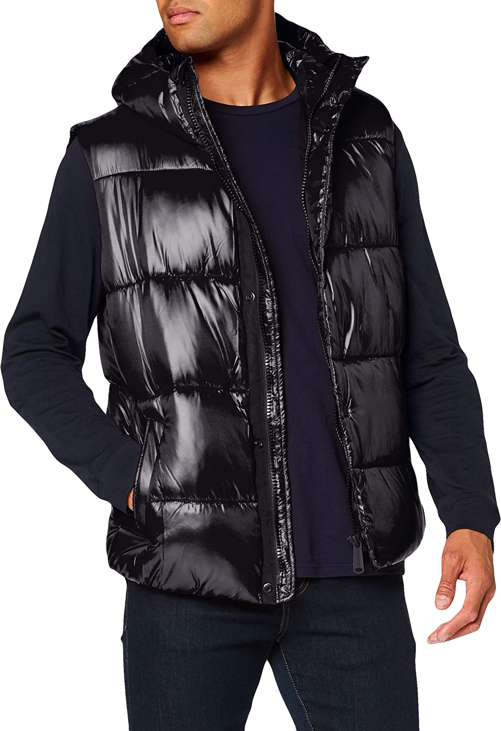 Superdry High Shine Max 47% OFF Padded Gilet Year-end annual account