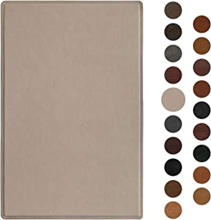 Leather Repair Patch 5X8 inch Self-Adhesive Couch Patch Emboss Leather for Sofas, Car Seats, Handbags, First Aid Patch (Pale Mauve)