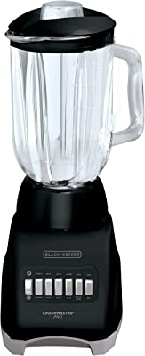 Black & Decker BL1000BG Licuadora Crush Master Pro 10 Velocidades