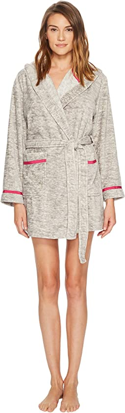 Kate Spade New York - Plush Fleece Wink Embroidered Robe