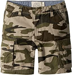 Lucky Brand Kids - Cargo Shorts Camo (Toddler)