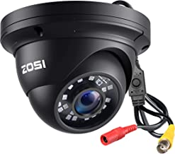 ZOSI 2.0 Megapixel 1080P 1920TVL 4-in-1 TVI/CVI/AHD/960H CCTV Camera,80ft Night Vision, Indoor Outdoor,Aluminum Metal Hous...