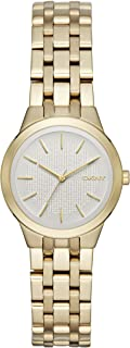 DKNY Women's 'Park Slope' Quartz Stainless Steel Casual Watch, Color:Gold-Toned (Model: NY2491)