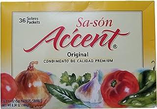 Sa-son Accent Premium Quality Seasoning, Original Flavor, 36-Count