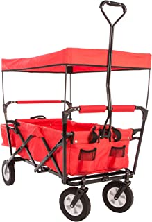Ultrasport - Carrito Plegable/Carretilla/Carro para Picnic, con Funda para el Transporte, Carga máxima 55 kg