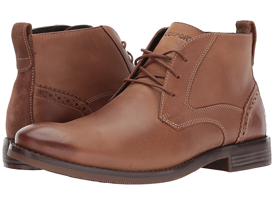 Rockport Wynstin Chukka (Tobacco) Men