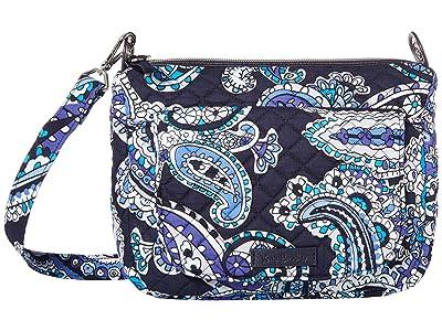 Vera Bradley Carson Mini Shoulder Bag (Deep Night Paisley) Cross Body Handbags