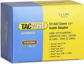 Tacwise 0303 Grapas galvanizadas de tipo 97//15 mm