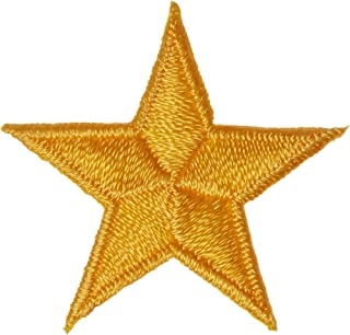 Wrights Iron-On Appliques-Yellow Stars 1-1/4