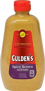 2 Pack Gulden's Spicy Brown Mustard, 24 oz
