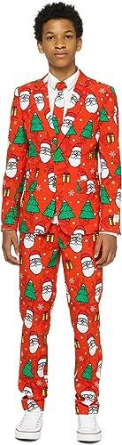 Generique - Costume Mr. Holiday Hero Adolescent Opposuits