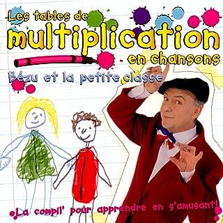 tables de multiplications en chanson