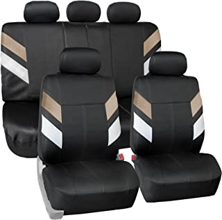FH Group FB086115BEIGE Beige Neoprene Seat Cover (Semi-Universal Modern Edge)