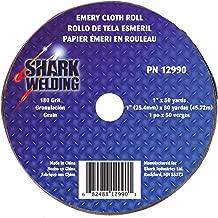 Shark 12990 1-Inch by 50-Yards Aluminum Oxide Emery Cloth Roll, 180-Grit