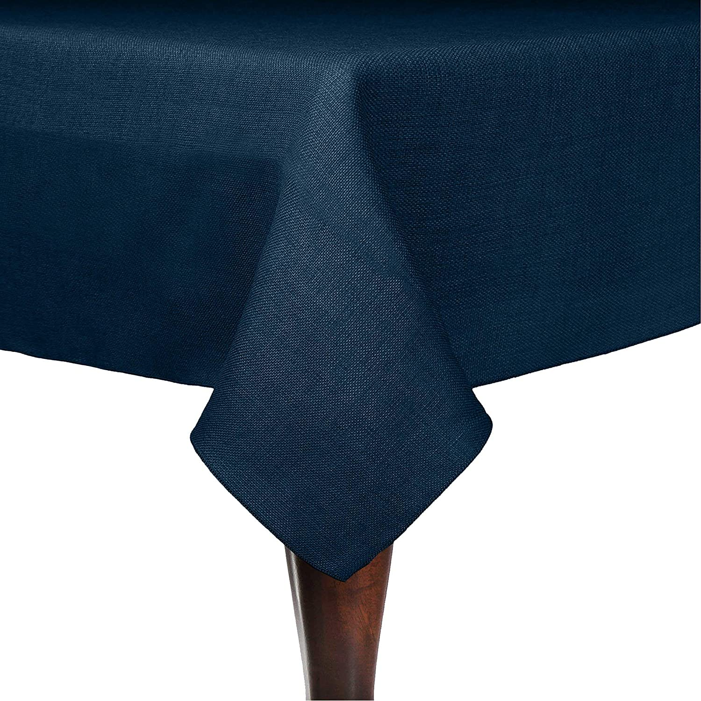 Ultimate Textile Faux Choice Burlap - Havana Tablec x Square 72-Inch 72 High order