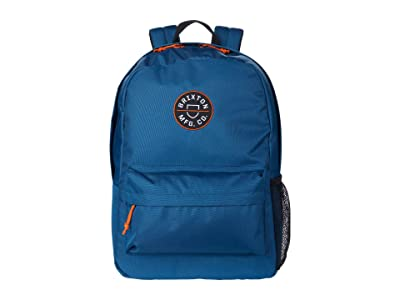 Brixton Crest Backpack (Mineral Blue) Backpack Bags