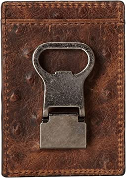 M&F Western Front Pocket Metal Clip Wallet