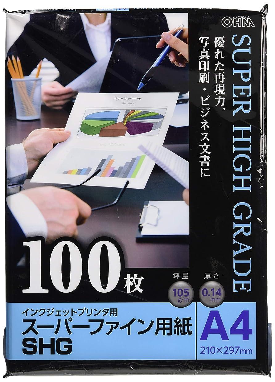 摂氏はしご眠いですスーパーファイン用紙 A4 100枚 PA-PSF-A4/100