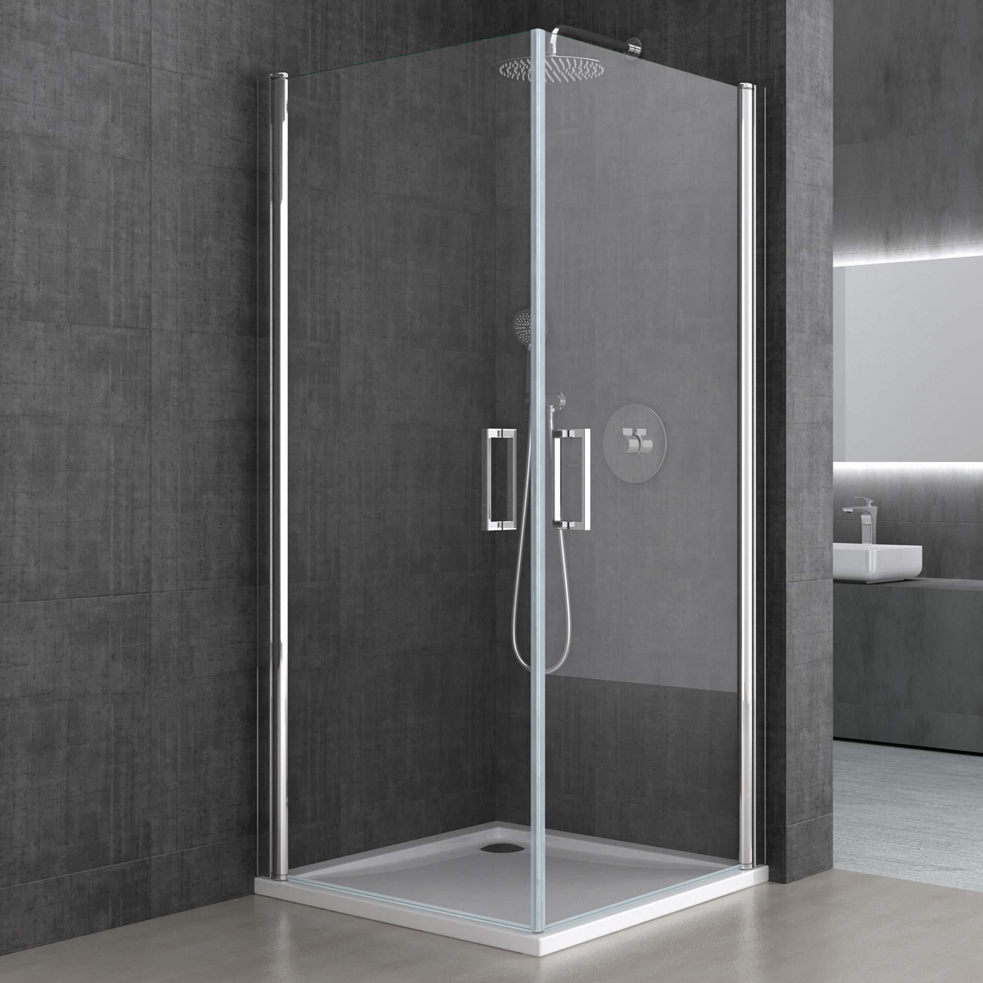 BTH: 70 x 85 x 190 cm Diseño Mampara ravenna22 con doble puerta ...