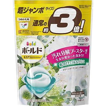 ボールド ジェルボール 香りつき 洗濯洗剤 グリーンガーデン&ミュゲ 詰め替え 超ジャンボ 44個入