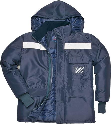 Portwest Cs10 Armoires réfrigérées Veste, 3 XL, Bleu marine
