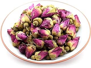 GOARTEA 50g (1.76 Oz) Organic Red Rosebud Rose Buds Flower Floral Dry Herbal Health Chinese Tea Hierbas