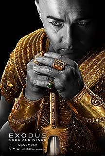 EXODUS GODS AND KINGS MOVIE POSTER 2 Sided ORIGINAL Ver A 27x40 CHRISTIAN BALE JOEL EDGERTON