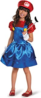 Disguise Mario Skirt Version Costume, Small (4-6x)