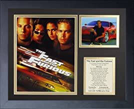Legends Never Die The Fast and The Furious Framed Photo Collage, 11x14-Inch