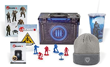 Toynk Gears of War 5 Collector's Looksee Bundle with Exclusive Ammo Tin Packaging and DLC